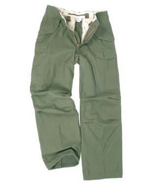 TEESAR Kalhoty US M65 OLIV