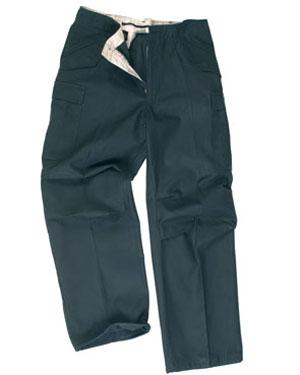 TEESAR Kalhoty US M65 ČERNÉ