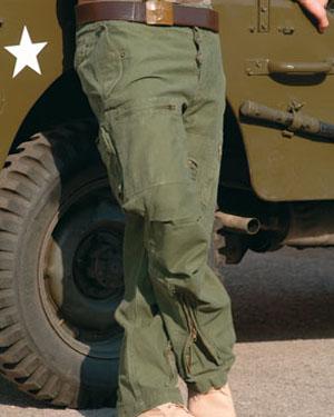 MIL-TEC Kalhoty PILOT předeprané OLIV