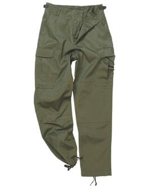 MIL-TEC Kalhoty US BDU polní OLIV