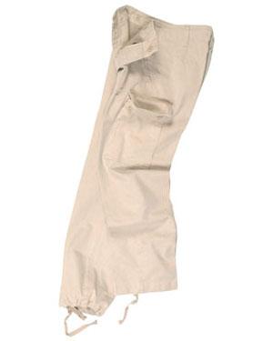 MIL-TEC doprodej Kalhoty dětské BW moleskin KHAKI (PREWASH)