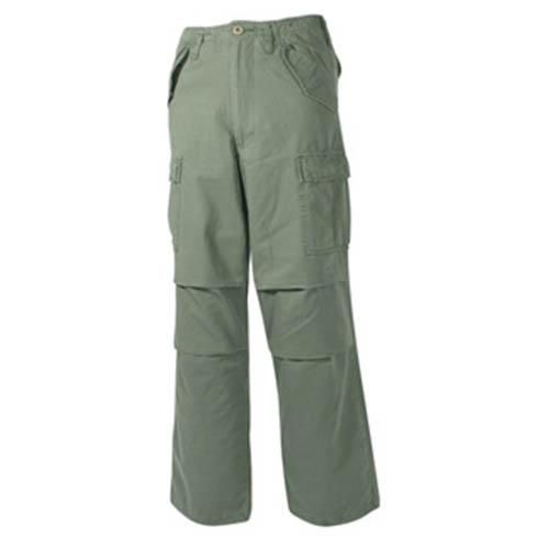 Kalhoty US M65-STYLE předeprané ZELENÉ