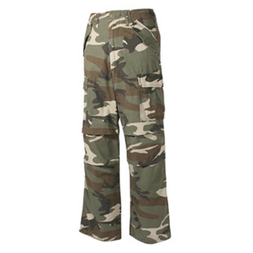 Kalhoty US M65-STYLE předeprané WOODLAND