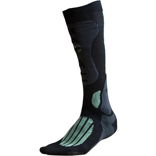 BATAC Ponožky BATAC Mission - podkolenka ČERNO/ZELENÉ