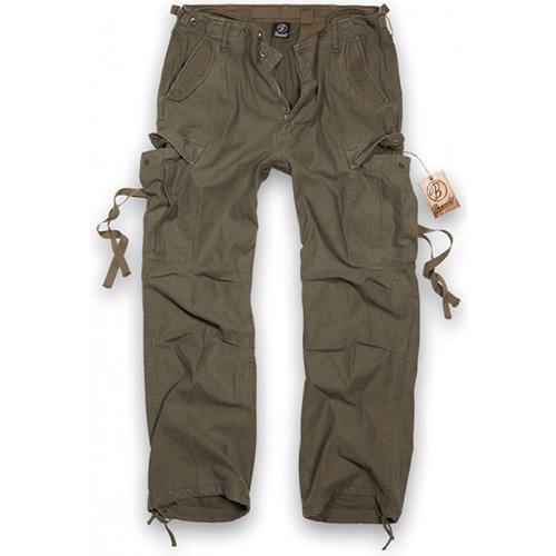 BRANDIT Kalhoty M65 vintage ZELENÉ