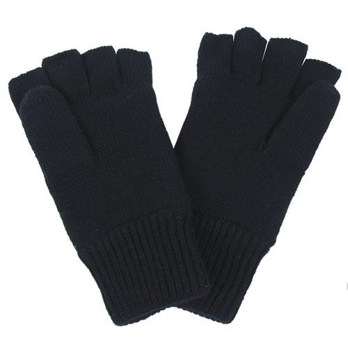 Rukavice bez prstů pletené Thinsulate ČERNÉ - MAX FUCHS - Army shop ... 11df96c0ce
