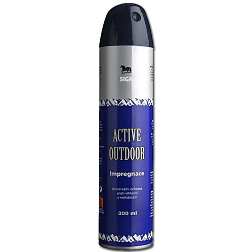 SIGA IMPREGNACE Impregnace ACTIVE OUTDOOR (Carat) ve spreji 300ml