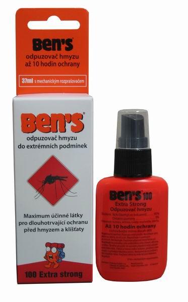 Repelent proti hmyzu BEN´S 100, 37ml - BENS - zvìtšit obrázek