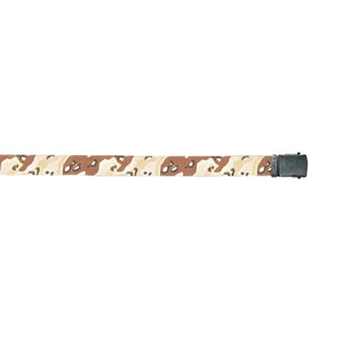 Opasek US kalhotový s černou sponou 6col. DESERT dl. 135 cm - zvětšit  obrázek a22696578e