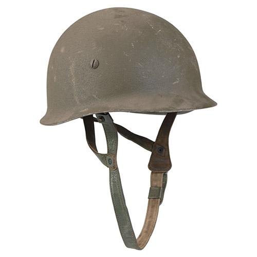 armáda Německá Helma BW PARA bez potahu ZELENÁ použitá