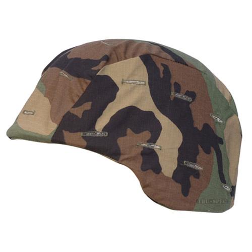TRU-SPEC Potah na helmu US PASGT WOODLAND