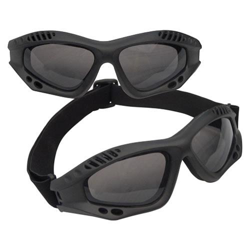 ROTHCO Brýle taktické ČERNÉ