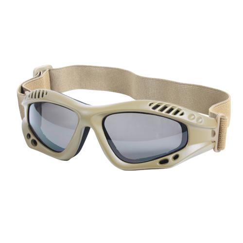 ROTHCO Brýle taktické SVĚTLE HNĚDÉ