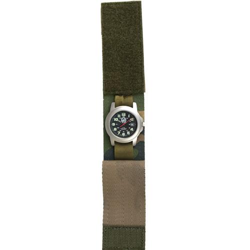 MIL-TEC Pásek na hodinky COMANDO WOODLAND