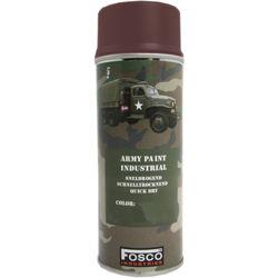 FOSCO Barva ARMY maskovací ve spreji 400ml HNĚDÁ