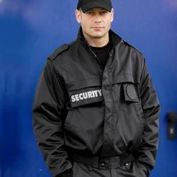 MIL-TEC Bunda SECURITY s odepínacími rukávy ČERNÁ