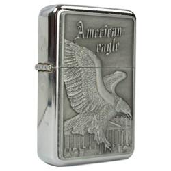 MIL-TEC Zapalovač benzínový AMERICAN EAGLE / WASHINGTON