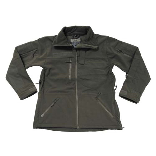 MFH Bunda softshell HIGH DEFENCE ZELENÁ