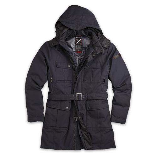 SURPLUS Kabát XYLONTUM zimní TMAVĚ MODRÝ