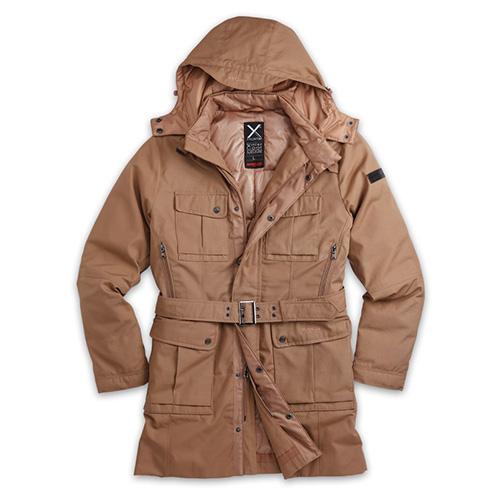 SURPLUS Kabát XYLONTUM zimní KHAKI