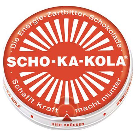 Èokoláda energetická Scho-Ka-Kola hoøká 100g - zvìtšit obrázek