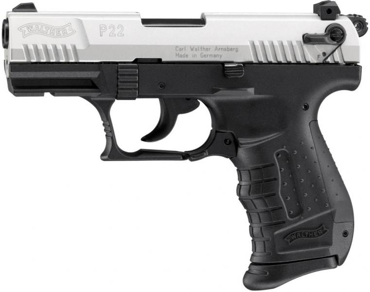 Plynová pistole Walther P22 bicolor cal.9mm