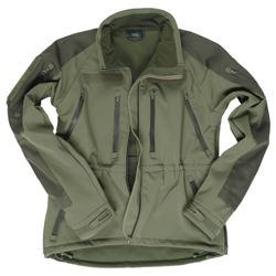 MIL-TEC Bunda SOFTSHELL PLUS OLIV