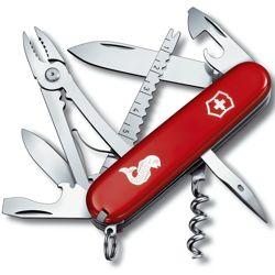 VICTORINOX Nůž kapesní ANGLER červený