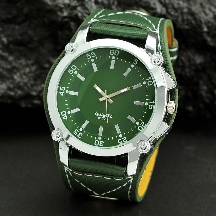 353dafab931 Sportovní outdoorové hodinky Big Dial v army stylu - - Army shop ...