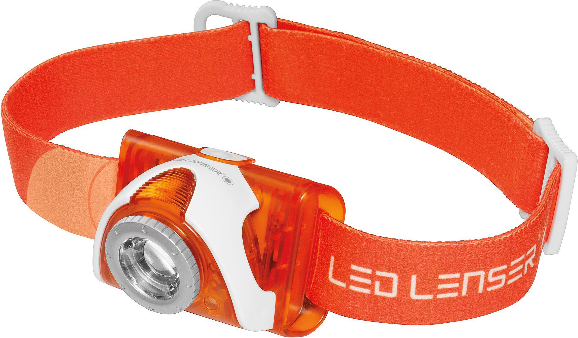 Èelovka LED Lenser SEO 3 oranžová - zvìtšit obrázek