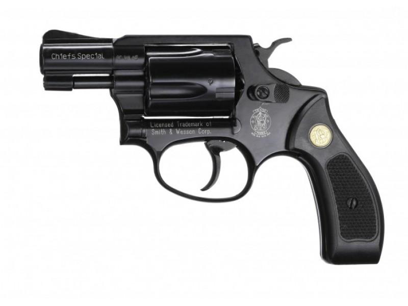 Plynový revolver Smith Wesson Chiefs Special černý plast cal.9mm