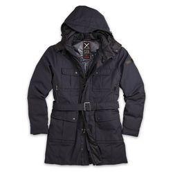 SURPLUS Kabát dámský XYLONTUM zimní TMAVĚ MODRÝ