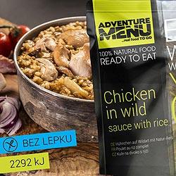Kuře na divoko s rýží - ADM sterilizované hotové jídlo