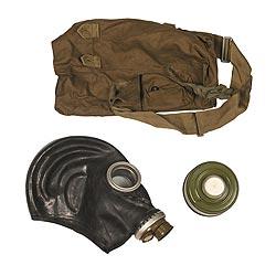 armáda Ruská Maska plynová ruská taškou ČERNÁ