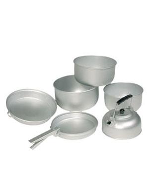 MIL-TEC Nádobí ALU na vaření 3 dílná sada
