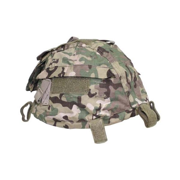 MFH Potah na helmu MFH operation camo