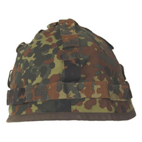 Bundeswehr Potah BW na plechovou helmu FLECKTARN použitý