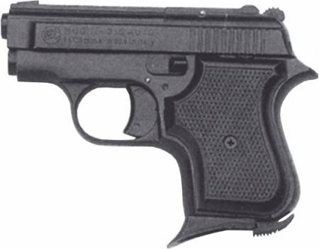 Bruni Plynová pistole Bruni 315 AUTO černá cal.8mm