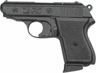 Bruni Plynová pistole Bruni Police černá cal.9mm