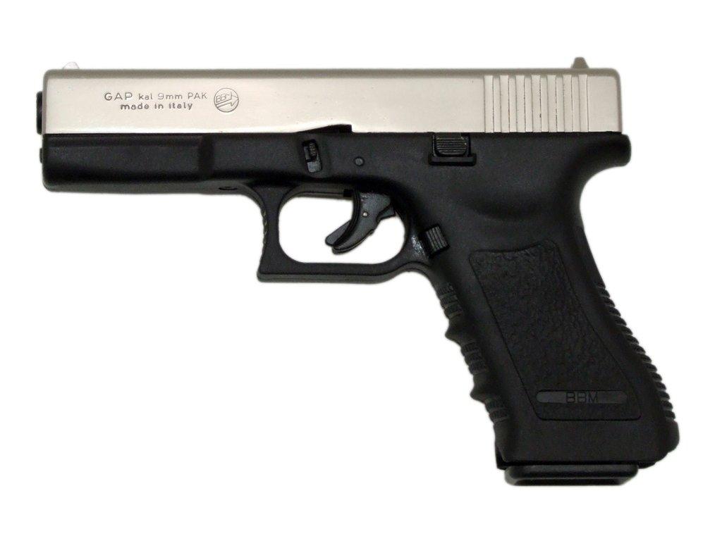 Bruni Plynová pistole Bruni GAP bicolor cal.9mm