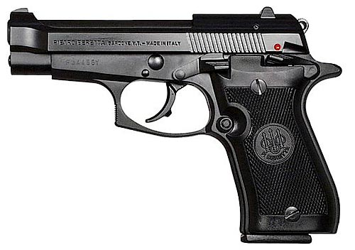 Bruni Plynová pistole Bruni 85 Cheetah černá cal.9mm