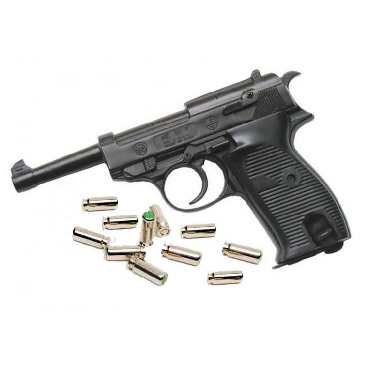 Bruni Plynová pistole Bruni P38 černá cal.8mm