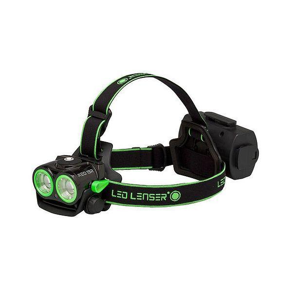 LED Lenser Svítilna čelová LEDLENSER XEO 19R ZELENÁ