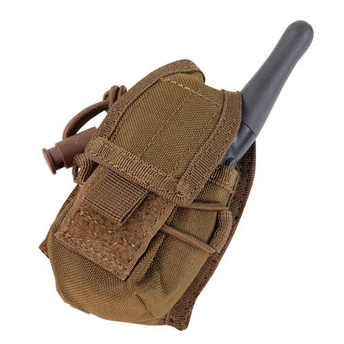 CONDOR OUTDOOR Pouzdro MOLLE HHR na rádio COYOTE BROWN