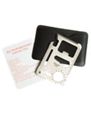 Multifunkèní karta 10 nástrojù /kreditka/ - zvìtšit obrázek