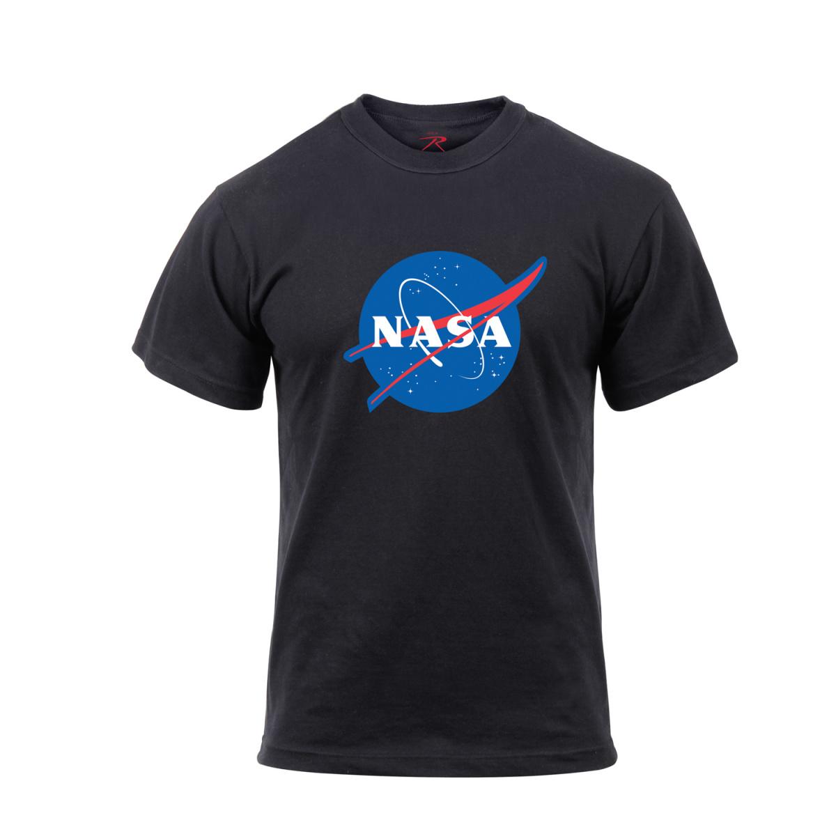 Triko se znakem NASA ČERNÉ - ROTHCO - Army shop armytrade.cz 962fe97fcb