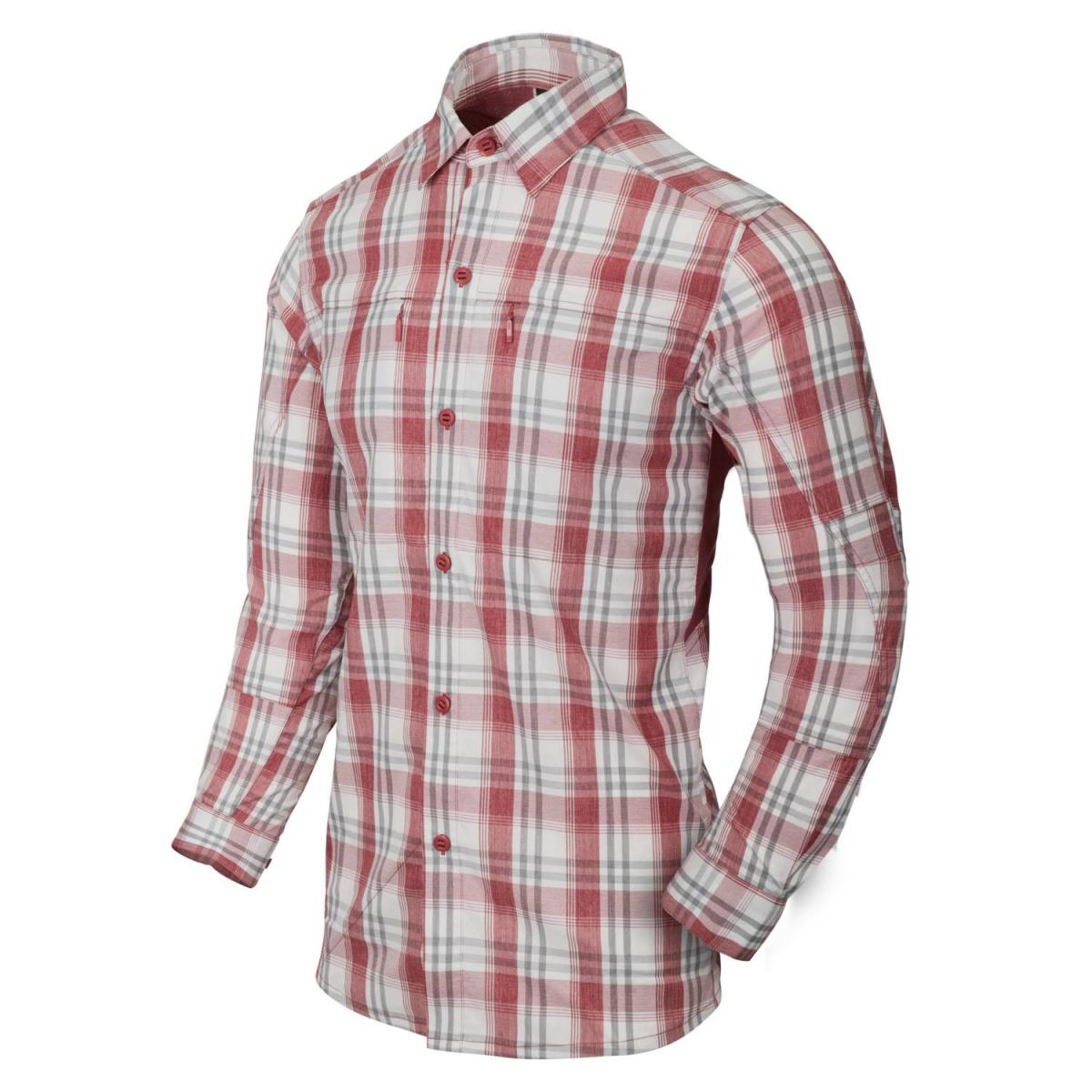 Košile TRIP dlouhý rukáv RED PLAID - zvìtšit obrázek