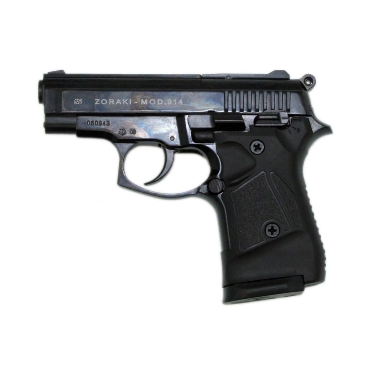 Pistole plynová ATAK ZORAKI 914 cal.9mm P.A. ÈERNÁ - zvìtšit obrázek