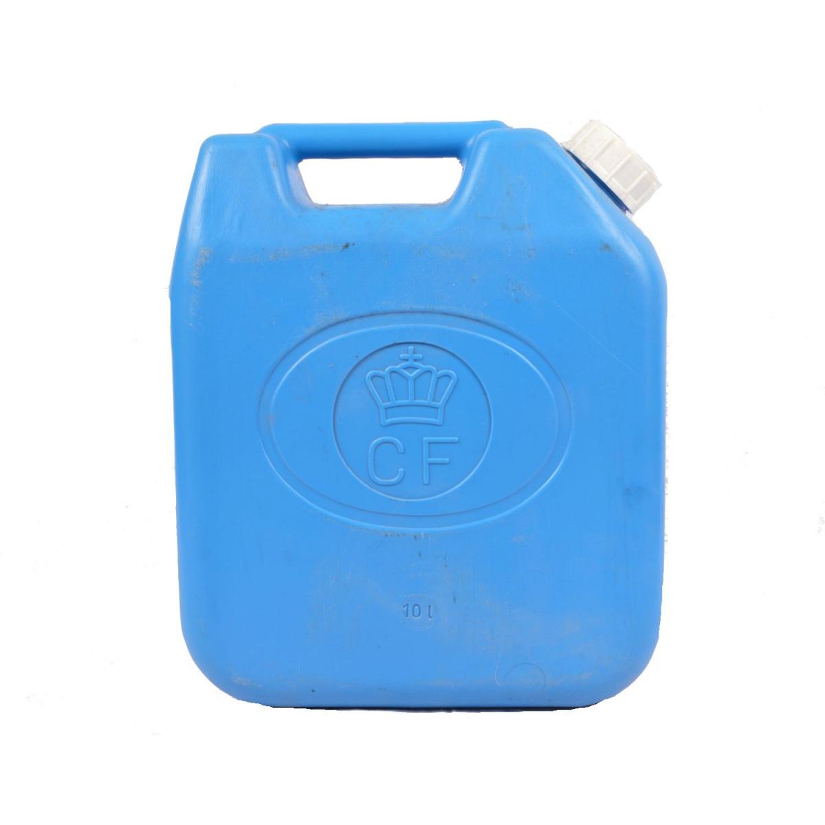 Kanystr holandský na petrolej MODRÝ 10L plastový použitý - zvìtšit obrázek