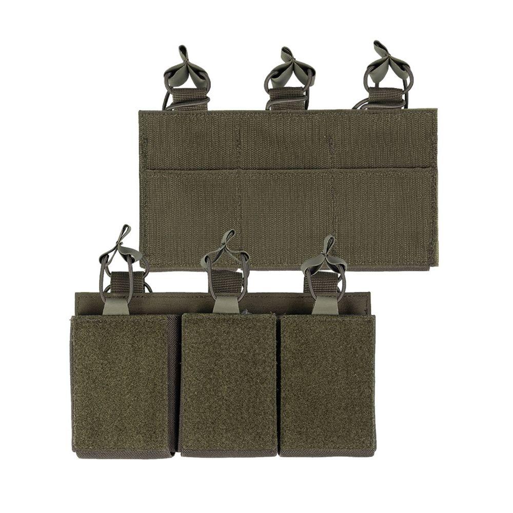 Sumka na zásobník trojitá M4/M16/AR15 ZELENÁ - zvìtšit obrázek